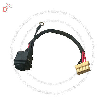 DC Power Port Jack Socket and Cable Wire  Sony Vaio PCG-71911M PCG71911M