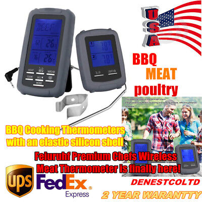 Meat Thermometer BBQ Tools Cooking Thermometers Wireless Remote Digital Portable