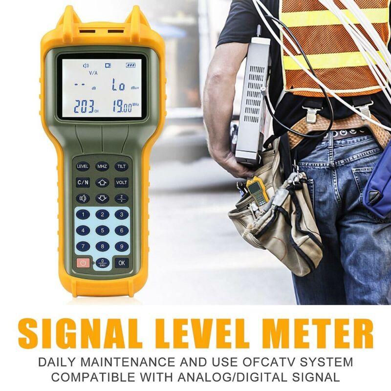 USA Ship RY S110 CATV Cable TV Digital Signal Level Meter DB Tester Tool RY-S110