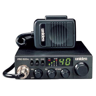 UNIDEN PRO520XL CB RADIO WITH 7 WATT AUDIO OUTPUT