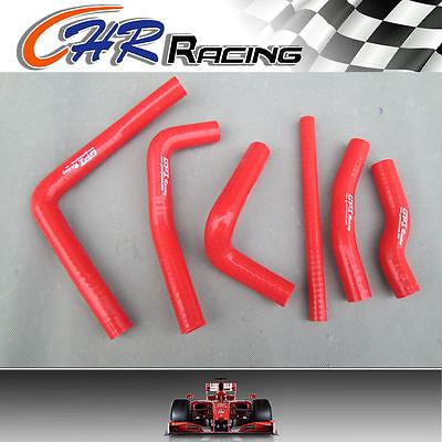 Honda CR250 CR250R CR 250R 2-stroke 2000 2001 00 01 silicone radiator hose RED