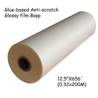 Golssy 12.5x656 Bopp Glue-based Anti-scratch Laminating Film Laminate Paper