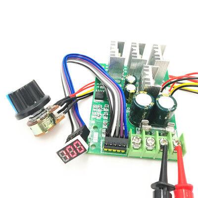 Pwm Dc Motor Speed Controller Digital Display 0100 Adjustable Drive 6v-60v