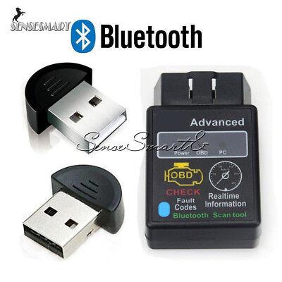 OBD 2 OBDII ELM327 V1 5 HH Car Auto Bluetooth Diagnostic Tool Interface  Scanner