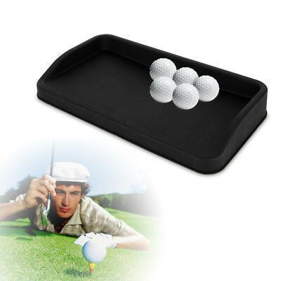 LARGE Rubber Golf Ball Tray Display Storage Golf Ball Rubber Fit 100x Ball HOT!! ()
