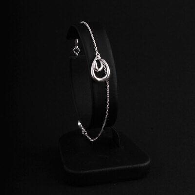 Georg Jensen Sterling Bracelet # 433. Silver. Offspring. Jacqueline Rabun. NEW