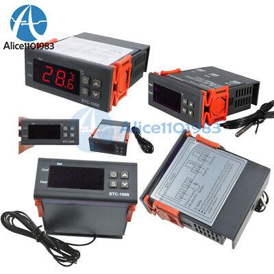 1224110-220v Stc-1000 Temperature Controller Thermostat Control Temp Sensor