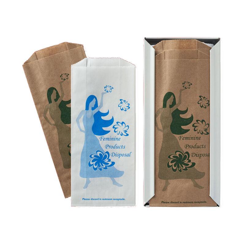 Case of 1000 Fischer Sanitary Disposal Bag #410-1