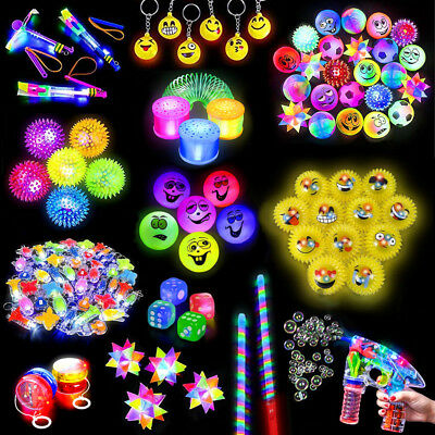 German Trendseller® - Mega LED - Light Up - Auswahl Mix - Set | Mitgebsel Licht (Licht Up Spielzeug)