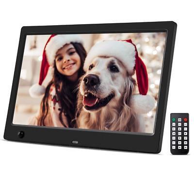 10.1 Zoll HD Digital Bilderrahmen, 1024 x 600 Hohe Auflösung mit Bewegungssensor