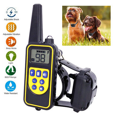 2600 FT Electronic Remote Dog Training Shock Collar Hunting Trainer Waterproof