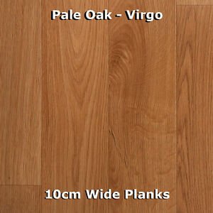 Wood effect vinyl ebay for Bathroom lino wood effect