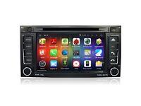 VW TUAREG Android Dual Core/4G Internet* Car dvd GPS Sat Nav Vw Transporter Full Hd 1080p