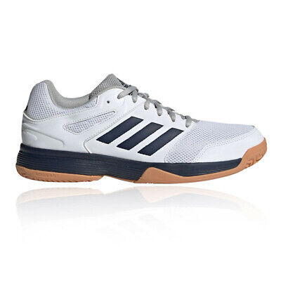 adidas Mens Speedcourt Indoor Court Shoes - White Sports Badminton Handball