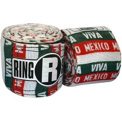 New Ringside Apex Kick Boxing MMA Handwraps Hand Wrap Wraps 180 - Mex Mexican