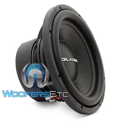 """GLADEN SQX12 12"""" CAR SUB 600W RMS 4-OHM SOUND QUALITY SUBWOOFER BASS SPEAKER NEW, used for sale  Los Angeles"""