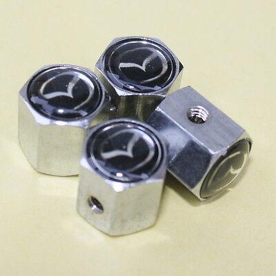 (Valve Caps Rims Tires Mazda Speed Miata 2 3 5 6 GS GX GT MX-5 CX-7 CX-9 MPV RX8)