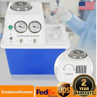 Circulating Water Vacuum Pump Double Pump Lab Chemistry Equipment 60lmin Usa