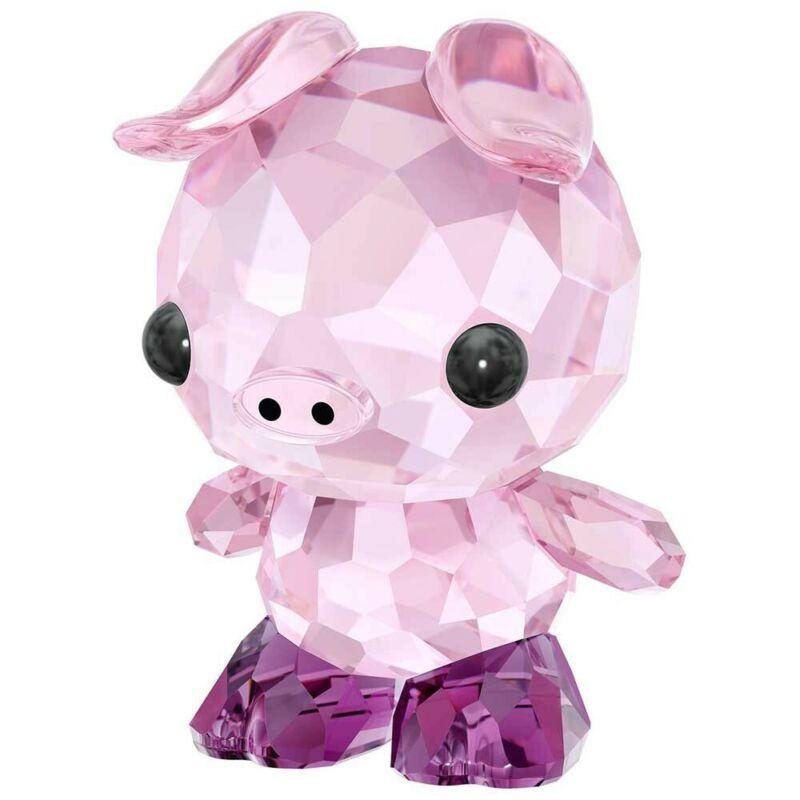 Swarovski Crystal Zodiac - Determined Pig Decoration Figurine 5302557