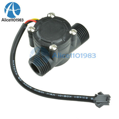 Water Flow Sensor Flowmeter Hall Flow Sensor Module Water Control 1-30lmin