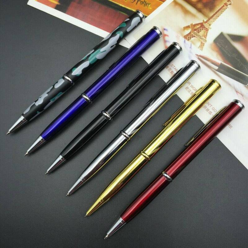 Tactical Ballpoint Pen With Survival Compass & Knife Steel G