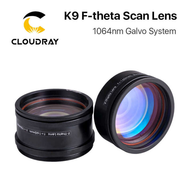 Cloudray K9 F-theta Scan Lens Thread M39 & M55 1064nm