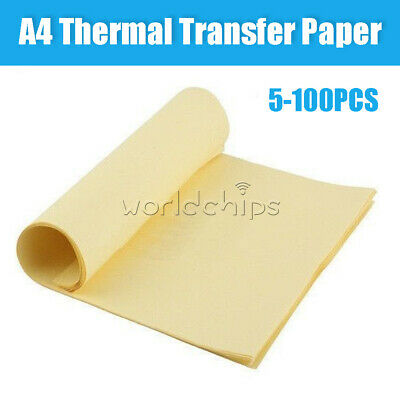 51050100pcs A4 Heat Toner Transfer Thermal Paper For Iron Pcb Prototype Board