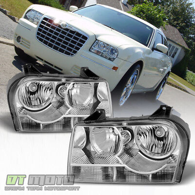 - 2005-2010 Chrysler 300 Halogen Headlights Headlamps Replacement 05-10 Left+Right