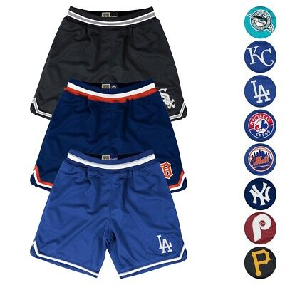 Mlb Mitchell   Ness Authentic Playoff Win Throwback Shorts Collection Mens