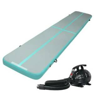 Air Track Exercise Training  Mat 5m x 1m x 10cm Electric Pump Kings Beach Caloundra Area Preview