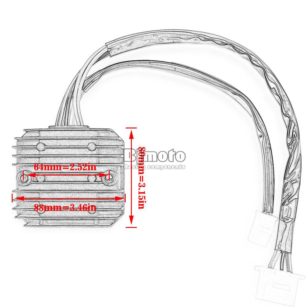 Voltage Rectifier Regulator For Honda GL500 CX650C VT800C