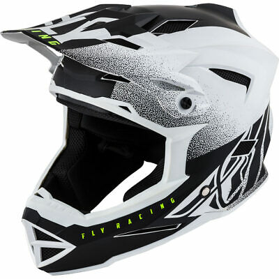 Fly Racing Default Cara Completa MTB/BMX Casco XL Blanco Mate / Negro