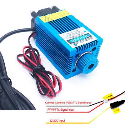 Pwmttl Blue Laser Engraving Modulefocusable 450nm 5w High Power Etcher Laser