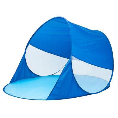 Strandmuschel OUTDOOR ACTIVE Pop-up Zelt blau mit UV50+… |