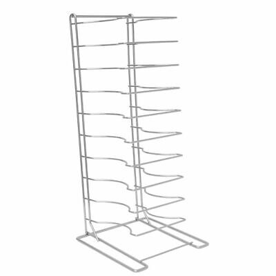 Hubert Pizza Pan Rack 15-shelf For 1 14 D Pans Chrome Plated Steel - 12 L X