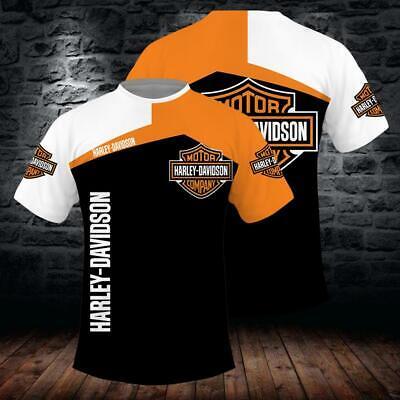 Harley-Davidson printing Hoodie T-shirt Long sleeve Pullover Zipper Sweatshirt