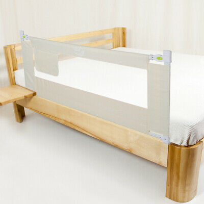 Retractable Safety Bed Rail Sleep Protective Guard For Kids Baby Toddler Elderly