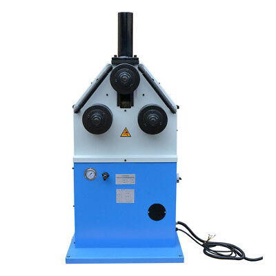 Electric Round Square Band Hydraulic Roll Pipe Tube Bender Machine 9rpm3hp220v