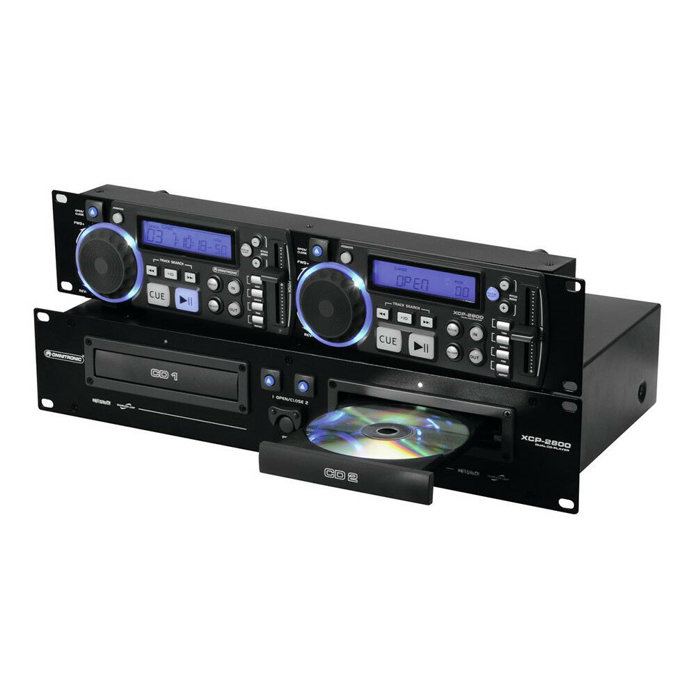 Omnitonic XCP-2800 Dual CD Player DJ Disco Sound System