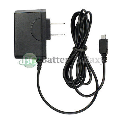 Black Home Travel Charger - NEW RAPID FAST Micro USB Battery Home Wall Travel Charger For Android Cell Phone
