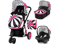 Cosatto travel system pushchair