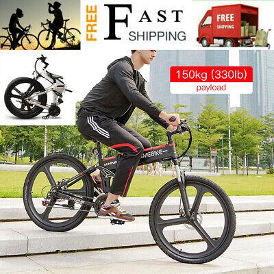 samebike Bicicleta eléctrica plegable 26'' combinada motor 48V 350W Bike