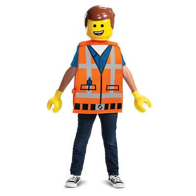 Kids Emmet LEGO Movie Costume Standard Size](Lego Emmet Costume)