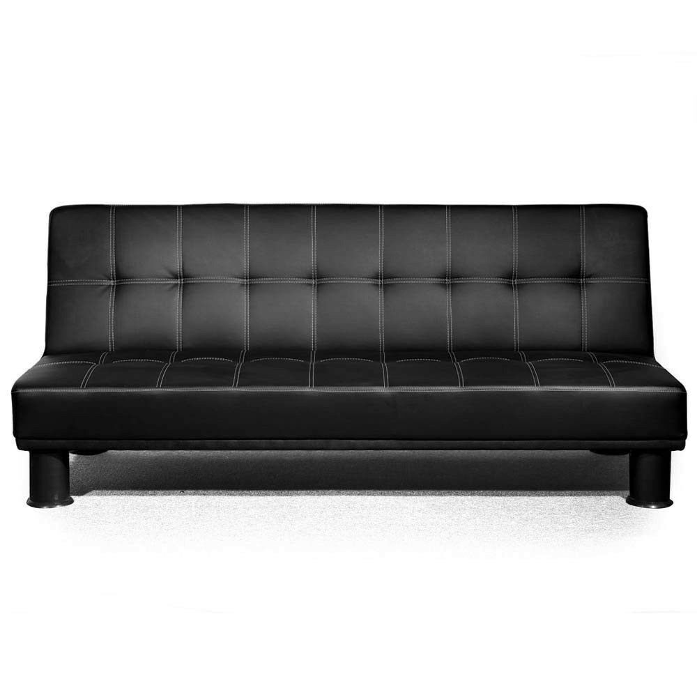 Leather Sofa Bed Futon
