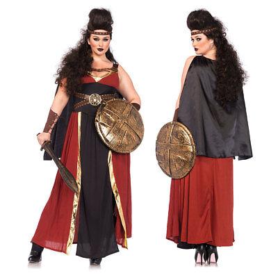Womens Regal Warrior Plus Size Halloween Costume ()