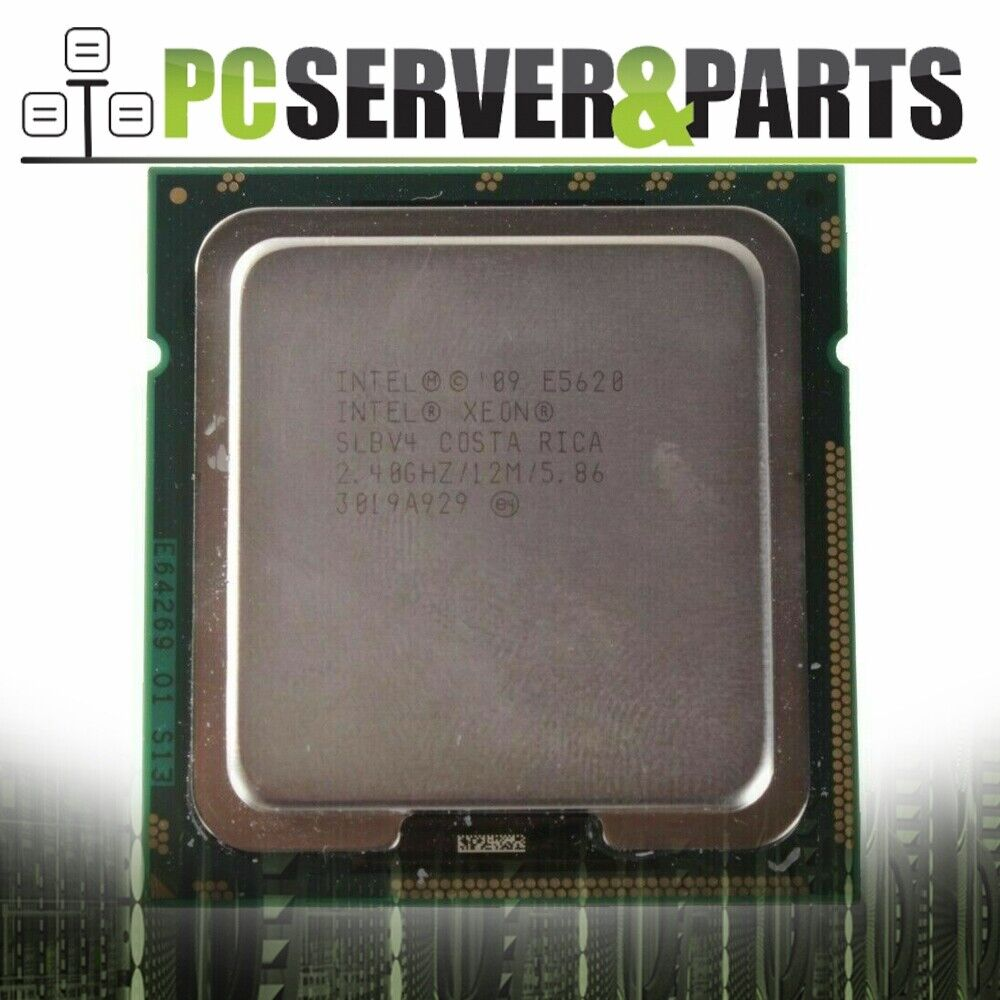 Matched Pair Intel Xeon E5620 Quad Core 2.4GHz 12MB Server Processor CPU SLBV4