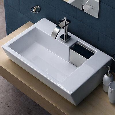 Design Keramik-Waschschale inkl. Nano-Versiegelung | Waschbecken / Waschtisch
