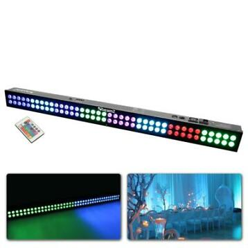 BeamZ LCB803 LED bar met 80 3W RGB LED's in 8 secties