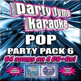 Party Tyme Karaoke: Pop Party Pack, Vol. 6 [5/26] 64 Songs (CD May-2015) NEW