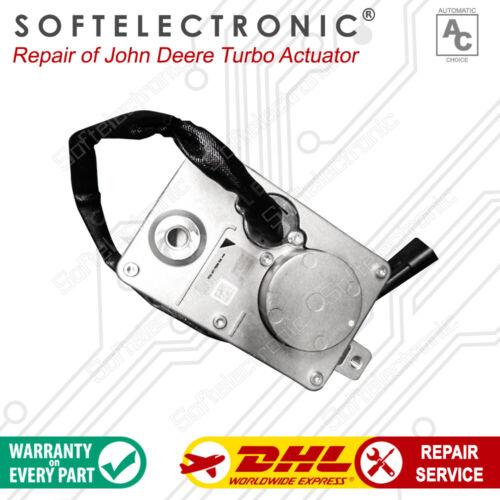 John Deere Turbo Actuator DZ108045, RE523318 Repair Service